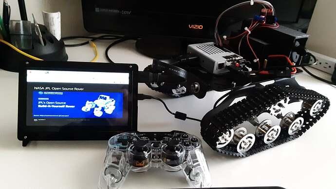 JPL rover goals