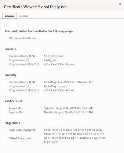 pypa-certificate