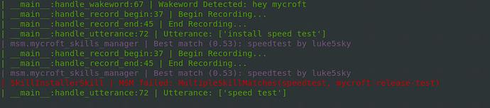 Mycroft Speedtest