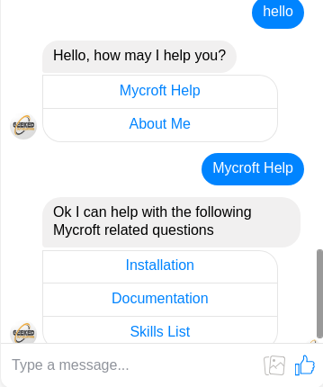 Mycroft Chatbot - A Solution For Answering Questions